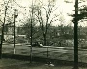 Alumni Gymnasium construction, 1927