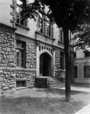 Denny Hall entrance, c.1945