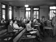 Class in Denny Hall, c.1945