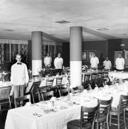 Drayer Hall dining hall, c.1965