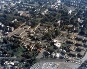 Aerial view of campus, 1973