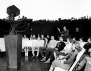 Henry L. Yeagley in the Bonisteel Planetarium, 1963