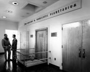 Bonisteel Planetarium entrance, 1963