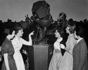 Bonisteel Planetarium starfield projector, 1963