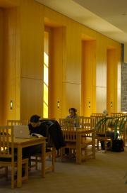 Waidner-Spahr Library Blumberg reading area, 2006