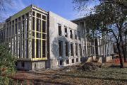 Waidner-Spahr Library construction, 1997