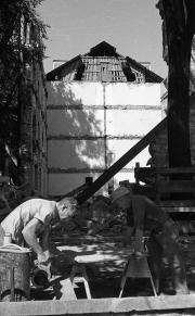 East College reconstruction, 1969