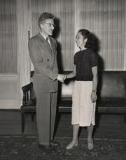 Frank Ayres, c.1955