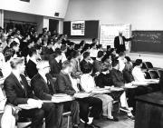 Chemistry class, c.1960