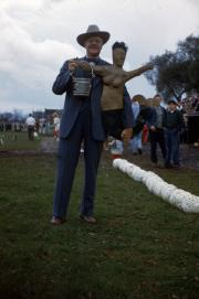 President Edel at Homecoming, 1950