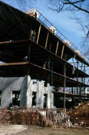 East College reconstruction, 1970