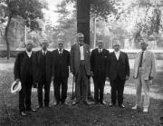 Alumni from Class of 1874 at reunion