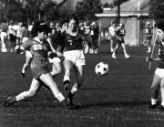 Women's Soccer game, 1986