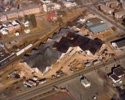 Kline Center construction, 1980