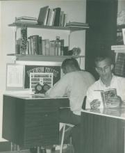Two Phi Kappa Sigma brothers study, 1964