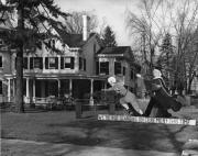 Homecoming spirit display by Kappa Sigma, 1951