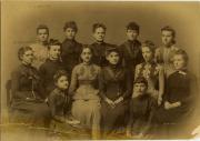 Female students, 1887