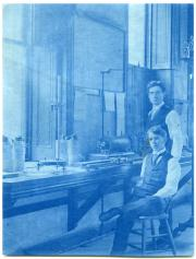 Male students in Tome lab, c.1890