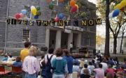 Anti-Apartheid rally, 1986