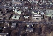 Aerial view of campus, 1980