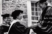 Chien-Shiung Wu at Commencement, 1975
