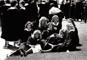 Students at Baccalaureate, 1987