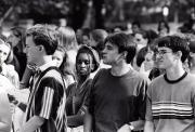 Students at Convocation, 1997
