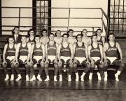 Wrestling Team, 1958
