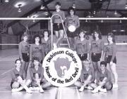Volleyball Team, 1986