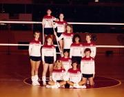 Volleyball Team, 1987