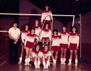 Volleyball Team, 1988