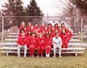 Women's Track Team, 1984