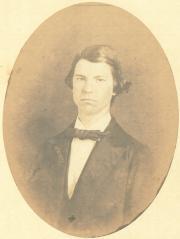 Peter Harrison Whisner, 1860