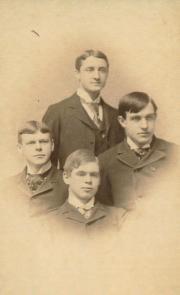 Senior Brothers of Phi Kappa Psi, 1893