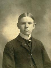 Albert Metzger Witwer, 1900