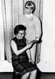 Barbara T. (Stevens) Wishmeyer, c.1965