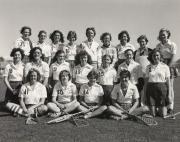 Women's Lacrosse Team, 1981