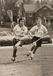 Women's Lacrosse game, 1982