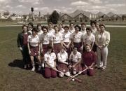 Women's Lacrosse Team, 1985