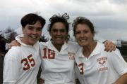Three Women's Lacrosse players, 1988
