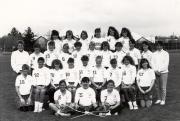 Women's Lacrosse Team, 1990