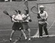 Women's Lacrosse game, 1995