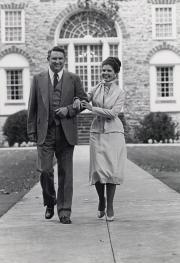 President Samuel and Judy Banks, c.1980