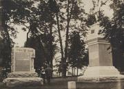 Monuments at Gettysburg Battlefield, c.1920