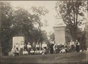 Group at Gettysburg Battlefield, c.1920