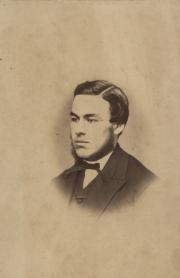 William Potter Davis, 1868