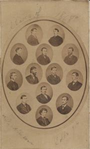 Class of 1868 composite, 1868