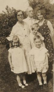 Ridley Family, 1932