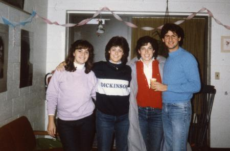 Casual party, c.1984