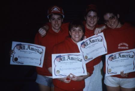 All-American Swimmers, c.1986